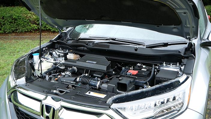 CR-V1.5Lターボエンジンルーム
